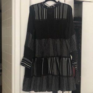 Zara   Striped long sleeve stress